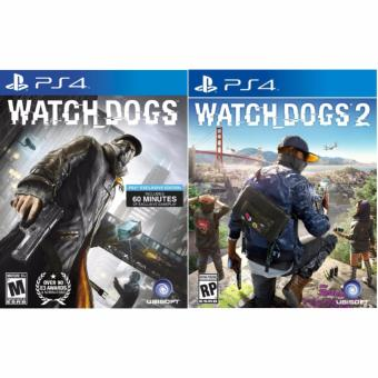 Harga Sony PS4 Games Watch Dogs 1 + Watch Dogs 2