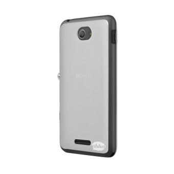 ... Ahha Moya Gummishell Casing for Sony Experia E4 Dual T White 3