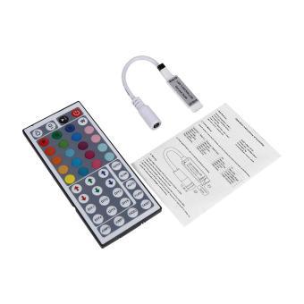 IR Remote Wifi Controller for 3528 5050 RGB LED Strip Light # 44 Keys - intl