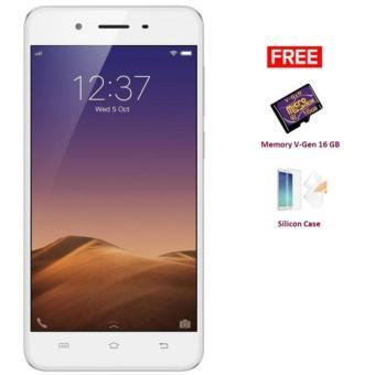 VIVO Y55S - 16 GB - Gold + Free Memory V-Gen 16 GB + Silicon Case ...