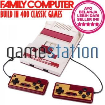 Harga GStation Family Computer FC Compact Video Game Player TV Console Build In 400 Classic Games