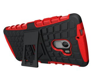... P1m Marble Pattern Soft Tpu Source · Fashion Case Rugged Armor Military untuk Lenovo Vibe K4 Note A7010 Black Red