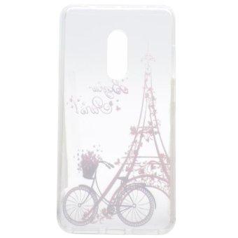 Colorful Printing Lenovo Vibe P1m Case Cover P1ma40 Soft Clear TPU Transparent Phone .