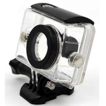 Harga Case Underwater Waterproof Anti Blur Case IPX68 40m for Xiaomi Yi Sports Camera - Hitam
