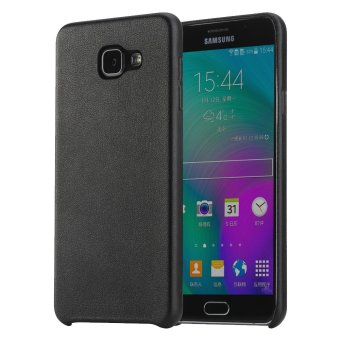 Harga Rock Smart Phone Casing Untuk Samsung Galaxy A510 / A5 2016 Leather Touch Series - Hitam