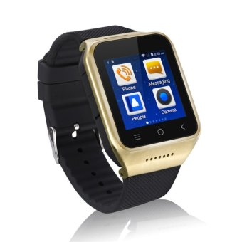 Harga JTS S8 WCDMA 3 g Android Smart Watch Phone Smartwatch with wi-fi Wireless Internet and GPS Navigator for Samsung Galaxy S3 / S4, S5 / S6 / S7 HTC One Sony - Golden
