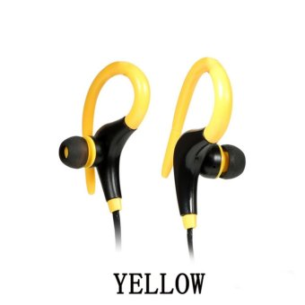 HengSong Wireless Bluetooth 4.1 Running Sport Headset Stereo Earphone Headphone For iPhone Samsung LG(Yellow