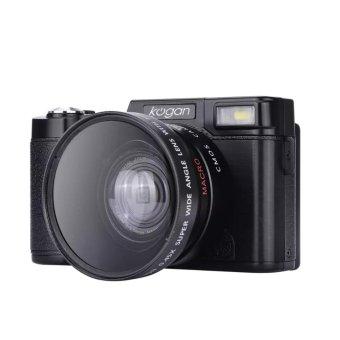 Kogan 24MP Kamera Mirrorless FHD 1080P Video 3 Inci LCD Wide Lens LF748 ...