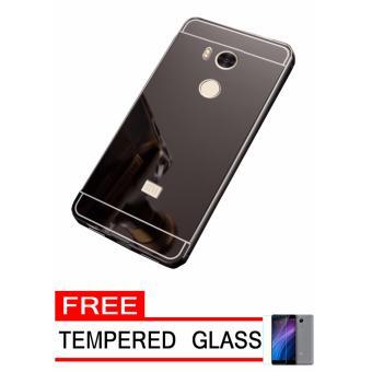 ... Galaxy J7 Prime Aluminium Bumper With Mirror Backdoor Slide Rose Source Samsung J7 Gold Gratis Tempered