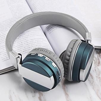 Wireless Headset bluetooth headset foldable Wired Headphones Over ear Earphone With Mic fashion Bass Stereo Support