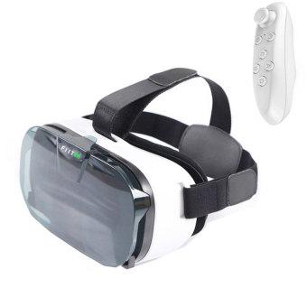 FIIT VR 2N 3D Virtual Reality Glasses Helmet Lightweight ErgonomicDesign VS VR Box + Bluetooth Controller
