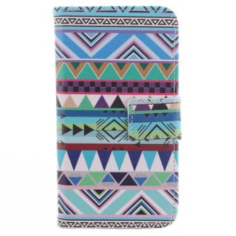 Harga Pattern Flip Wallet PU Leather Case with Card Slots and Magnetic Flap Closure Stand Case Cover For LG G2 Mini G2mini D618 D620 (Multicolor) (Intl)