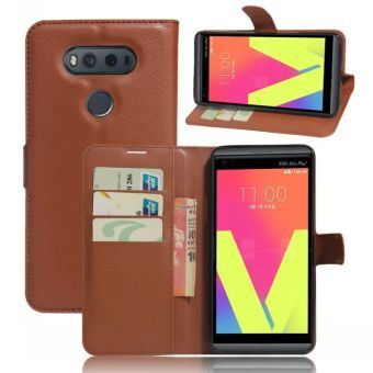 ... Sony Xperia XZ / XR Eiffel Tower Wallet Card Slots Kickstand Cover - intl ... Source · Wallet Flip Leather Case Cover For LG V20 (Brown) - intl .