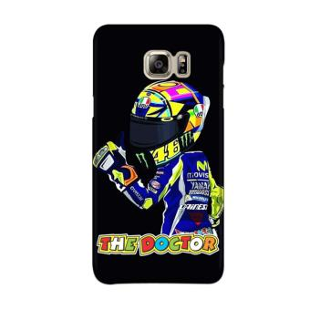 Indocustomcase MotoGP Valentino Rossi The Doctor VR46 ID12 Case Cover For Samsung Galaxy Note 5 ( N920 ) ...
