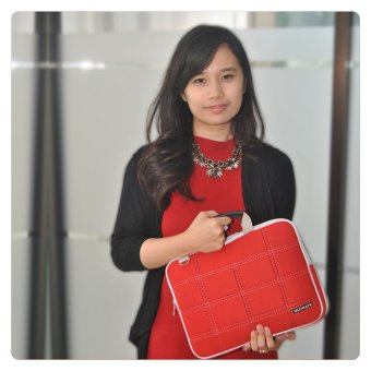 "Ultimate Softcase / Slave / Laptop Cover Double SL 14"" - Merah"