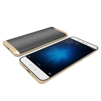 Calandiva Shockproof Hybrid Case for Xiaomi MI 5C- Hitam. Case for Xiaomi MI 5