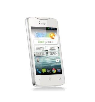 Jual Acer Z 130 Liquid Z3 Resmi - White Harga Termurah Rp 1299000.00. Beli Sekarang dan Dapatkan Diskonnya.