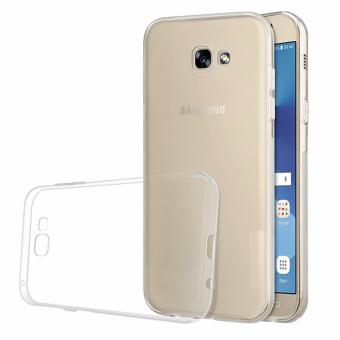 Harga Softcase Silicon Ultrathin for Samsung Galaxy A3 2017 - White Clear