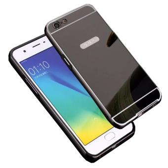 Case For Vivo Y35 Aluminium Bumper With Mirror Backdoor Slide Source · Case Metal for Oppo