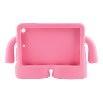 Harga OH Shockproof Kids Handle EVA Foam Case Cover for Apple iPad Mini 2 (Pink)