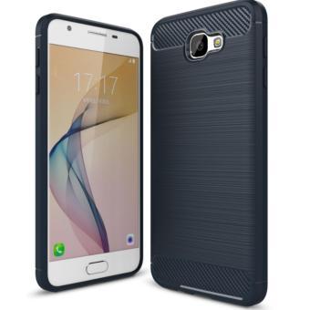 Case For Samsung Galaxy Galaxy J5 Prime Carbon Slim Fiber Shockproof Hybrid Case Series- Biru