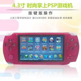 Harga 2017 Hot Portable Handheld Game Console 4gb built in 1000+ Games Video Games Support Camera MP3 Player(Red) - intl