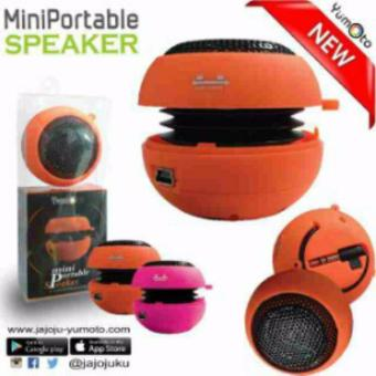 Harga Yumoto Mini Portable Speaker - Random