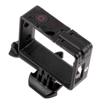 PANNOVO Fixed Frame Case w/ Bacpac Installation Elongated + 30mm Filter Arm for Gopro Hero 4/ 3 / 3+ - 3