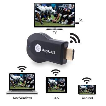 Harga AnyCast WiFi Display Receiver Miracast TV Dongle HDMI Stick DLNA Airplay 1080P - intl