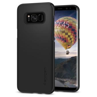 Spigen Galaxy S8 Plus Case Thin Fit Black (SF coated) (ORIGINAL) .