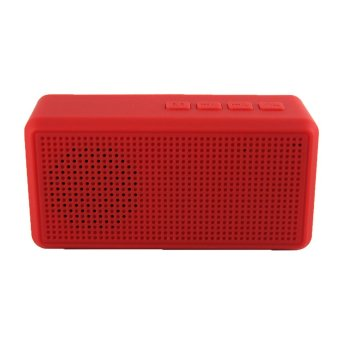 Harga Generic Speaker Bluetooth Portable Harmony 108 Red