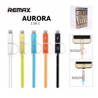 Harga Remax Cable Data & Charging 2 in 1 Aurora