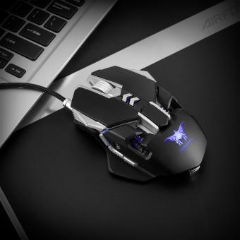 (Import) Combaterwing CW30 Wired Gaming Mouse Mice 7 Buttons 3200DPI 1000Hz Return Rate Weight