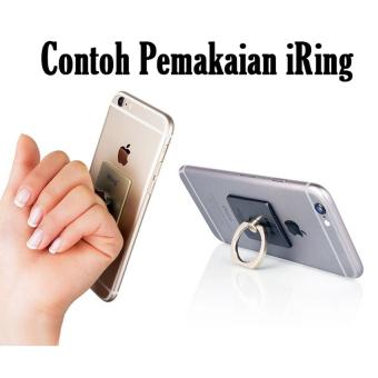 Case For Samsung Galaxy Grand Neo Bumper Slide Mirror - Silver + Free iRing - 2