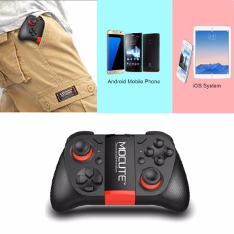 Harga MOCUTE Gamepad Joystick Bluetooth Controller gaming Shutter Gamepads for Andriod Smart mobile Phone for PS3(Usb Cable Not includes)