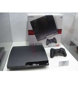 Refurbished Playstation 3 Slim Cfw 120gb Seri 2500a,Cfw 4.78
