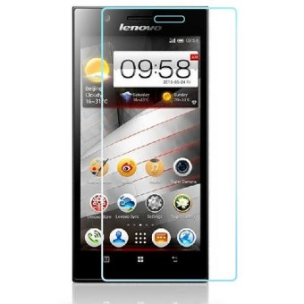 Vn Tempered Glass 9H for Lenovo K900 2D Round Curved Edge Screen Protector Film 0.33mm