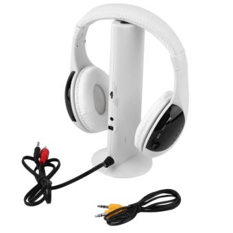 Allwin XU09 Penguat Mini Hi Fi Headphone Portabel Kesetiaan Tinggi Suara Musik Menguatkan Hitam. O 5-in-1 Hi Fi headphone nirkabel radio FM memantau MP3 ...