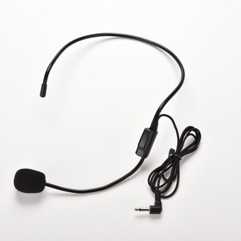 Wired Headset Microphone For Voice Amplifier