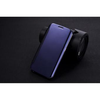 OEM Case Samsung Galaxy S8 Flipcase Flip Mirror Cover S View Transparan Casing .