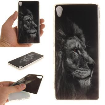 Ultra Slim Fit Soft TPU Back Case for Sony Xperia XA - Black Lion - intl