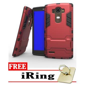 ... Cek Harga Procase Shield Rugged Kickstand Armor Iron Man Pc Tpu Back Covers For Lg G4