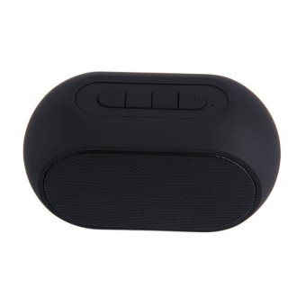 Harga Generic Speaker Bluetooth Rainbow LED J17 - Hitam