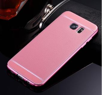 Phone case soft leather mobile phone case litchi grain cortical soft shell for Samsung A320/