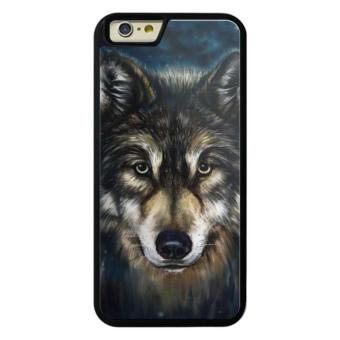 Phone case for Apple iPod touch 6 wolf head digital painting wolf head 179252123 cover for