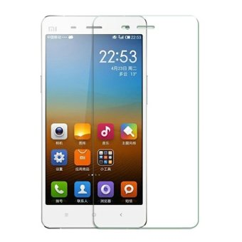 Harga Xiaomi Xiaomi Xiomi Mi 4 / Mi4 Tempered Glass Screen Protector 0.32mm - Anti Crash Film - Bening