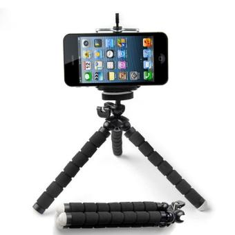 Wireless Bluetooth Shoot Release Remote Shutter + Holder Flexible Tripod Bracket Stand Mount For iPhone/