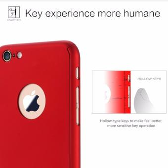 ... Glass Gold Source Hardcase Case 360 Iphone 6 6s Casing Full Body Cover Merah Free Tempered