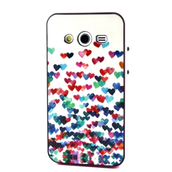 Multistyle Printing Series TPU PC Protective Back Case Cover Shell for Samsung Galaxy .