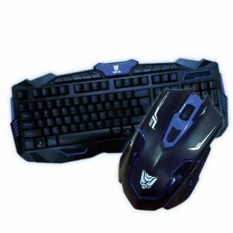 Rexus Warfaction VR2 Keyboard + Mouse Gaming Wireless Combo Wireles Wirelles WirellessRX-V2 ...